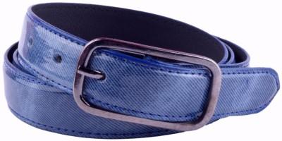 Modishera Women, Girls Casual, Party Blue Artificial Leather Belt