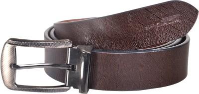 Spairow Men Casual Brown Genuine Leather Belt