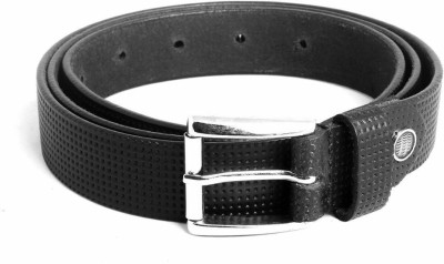 Ligans Ny Men, Women Formal, Casual Black Genuine Leather Belt