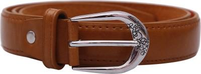 Stylehoops Boys, Men, Girls, Women Brown Artificial Leather Belt