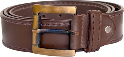 dazzler Boys, Men Brown Genuine Leather Belt