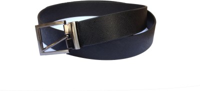 Indo Pelle Men, Boys Formal, Casual Black Genuine Leather Belt