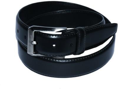pellezzari Men, Boys Black Genuine Leather Belt