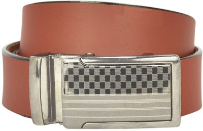 Bueva Men Casual, Formal Brown Synthetic Belt