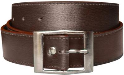 Bueva Men Casual, Evening/Party, Formal, Semi-formal Brown Synthetic Belt