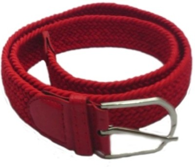 Shop & Shoppee Men, Women Casual Red Canvas Belt