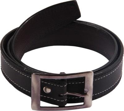 Bharat Fashion Boys, Men Formal Black Artificial Leather Belt