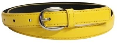 Trendy Loot Girls Casual Yellow Belt