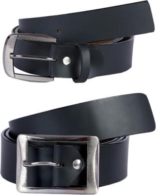 Hardys Men Black Genuine Leather Belt
