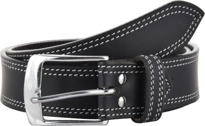 Sterling Germany Men Casual Black Genuine Leather Belt