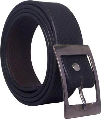 Ekora Men Casual, Formal Black Artificial Leather Belt