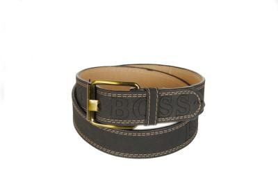 Bs Spy Men Casual Black Artificial Leather Belt
