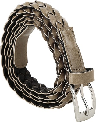 Jainsons Women Casual Grey Artificial Leather Belt