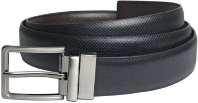 Saugat Traders Men Formal Black, Brown Artificial Leather Reversible Belt