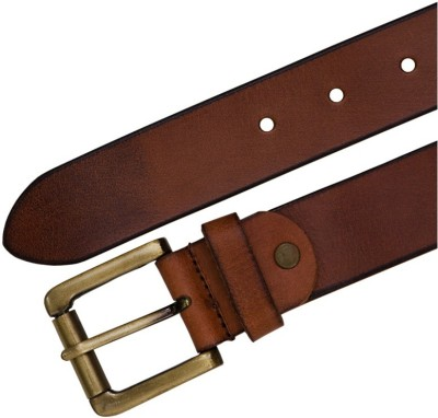 Shopping Store Men Casual Brown Genuine Leather Belt