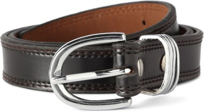 People Women Black Genuine Leather Belt