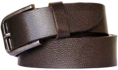 Alishaan Boys, Men Casual, Party, Formal, Evening Brown Genuine Leather Belt