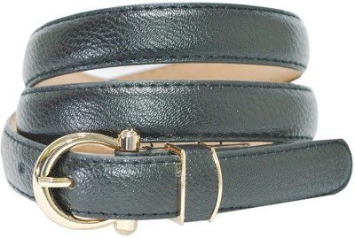 Hadwin Girls Formal Black Artificial Leather Belt
