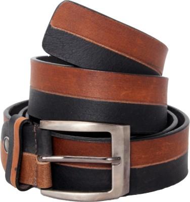 Ox Men Casual Tan Genuine Leather Belt