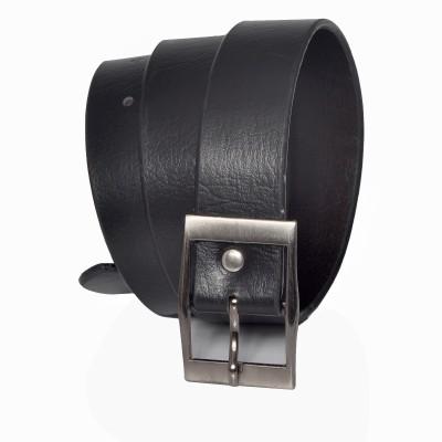 Stylox Men Casual Black Synthetic Belt