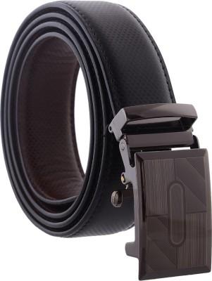 Accessorize Boys, Men Casual, Party, Formal Black Genuine Leather Reversible Belt