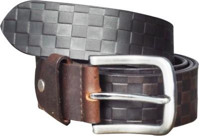 Adhaans Men Casual Black, Brown Genuine Leather Belt