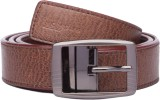 Spairow Men Casual Brown Synthetic Belt