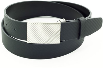 Orosilber Casual Black Genuine Leather Belt