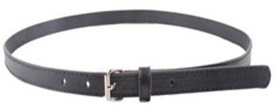 Indian Swan Girls, Women Party Black Artificial Leather Belt