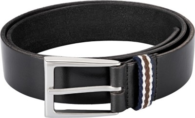 Parx Men Black Genuine Leather Belt