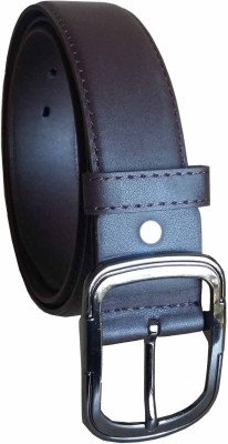 Stylemax Men Formal Brown Artificial Leather Belt
