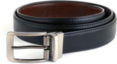 GINWALA Boys, Men Casual Black, Brown Genuine Leather Reversible Belt