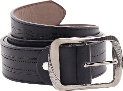 Shop & Shoppee Men Casual Black Synthetic Belt