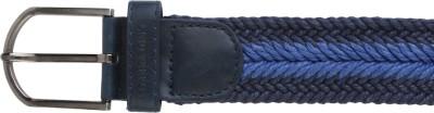 Lino Perros Men Casual Blue Artificial Leather Belt