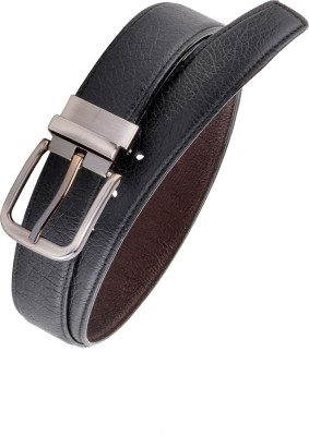 Rhino Men Black Artificial Leather Belt