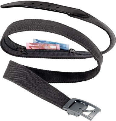 Go Travel Boys, Men Black Genuine Leather Belt