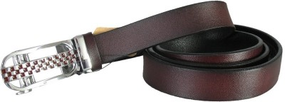 Lion Heart Girls Casual Brown Genuine Leather Belt