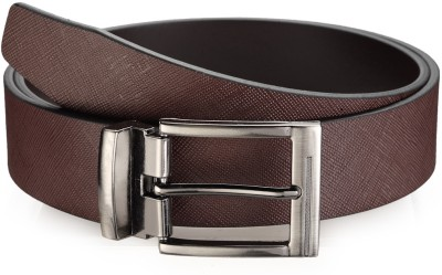 Leonardi Men Casual Brown Genuine Leather Belt