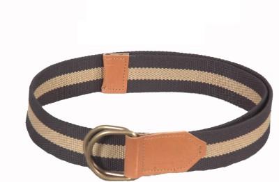 Frow Men Black Canvas Belt