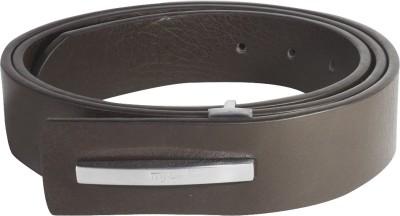 Ladecor Men Formal Brown Artificial Leather Belt