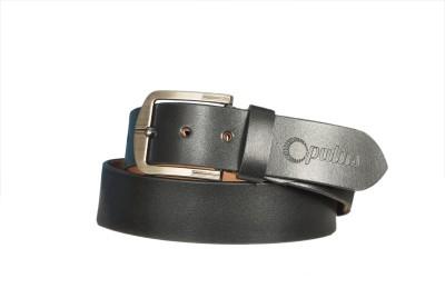 OPULUS Men, Boys Formal Black Genuine Leather Belt