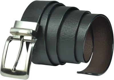 Saugat Traders Men, Boys Formal, Casual, Evening, Party Black, Brown Genuine Leather Reversible Belt