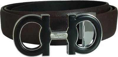 Ammvi Creations Men Black Artificial Leather Belt