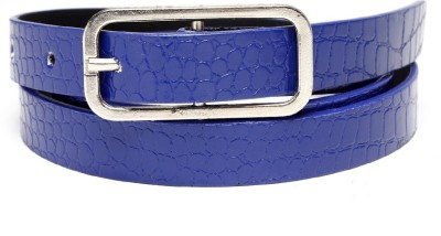 TOBO Women Casual Blue Synthetic Belt