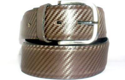 Hevan Men Brown Artificial Leather Belt