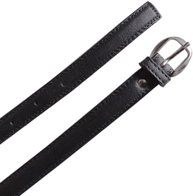shopping store Girls Casual Black Genuine Leather Belt