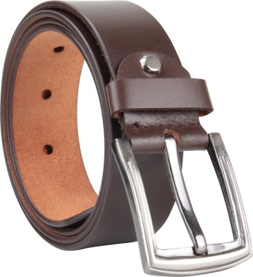 Cottage Accessories Men Brown Genuine Leather Belt