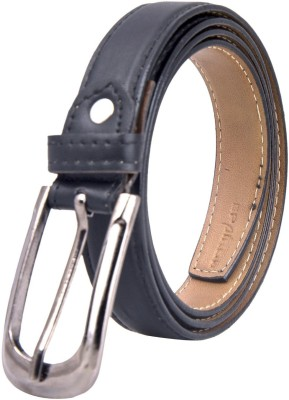 Chaklu Paklu Women Black Artificial Leather Belt