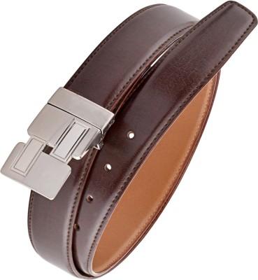 Rhino Men Brown Artificial Leather Belt