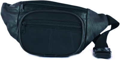 Ox Men Black Genuine Leather Belt